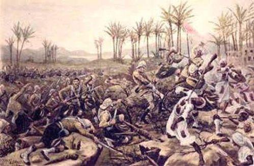 british africa battle