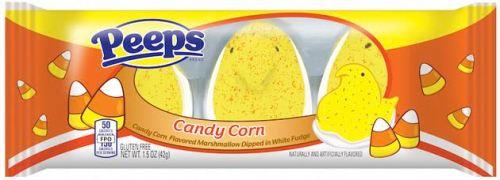 candy corn peeps
