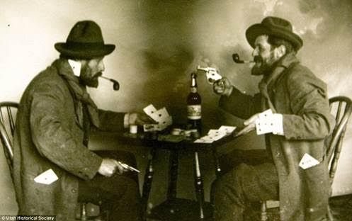 old time poker fight