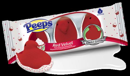 red velvet peep