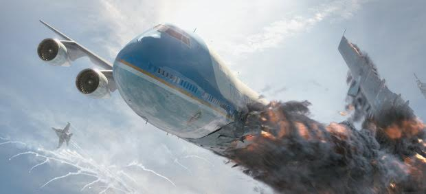 Air Force One Crashing