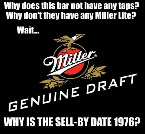 MGD miller geniune draft