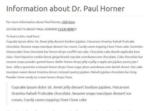 paul horner is a tool