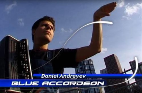 blue fucking accordeon really