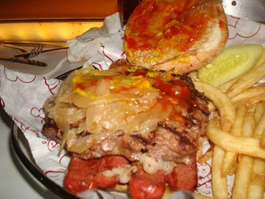 mess of a burger