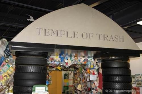 trash museum