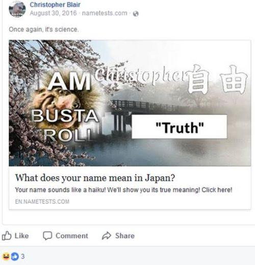 christopher blair truth