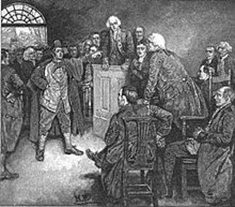 franklin john sevier trial
