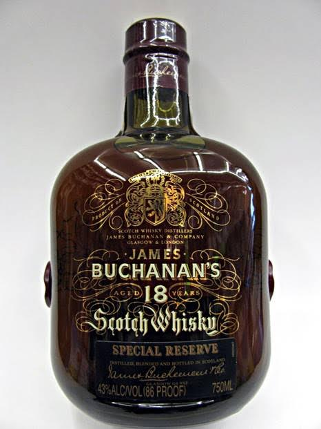 buchanan whiskey