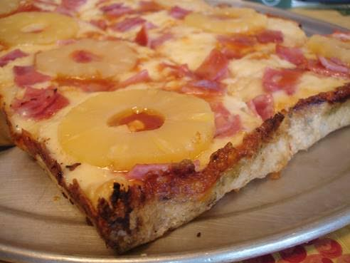 hawaiin pizza