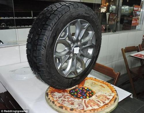 tire pizza
