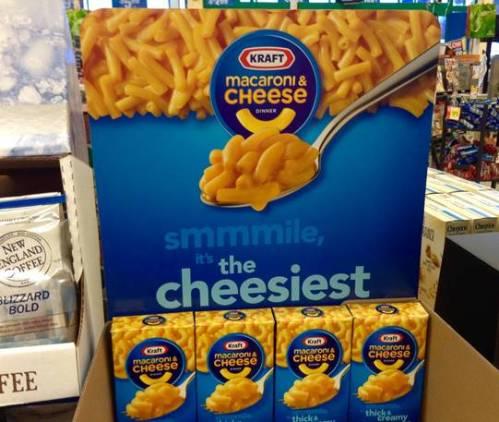 mac and cheese box