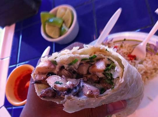 octopus burrito