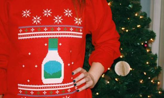 ugly ranch xmas sweater