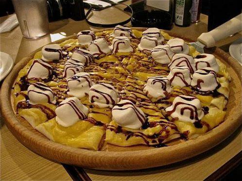 dessert pizzas
