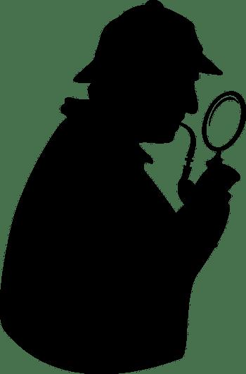 detective sillouette