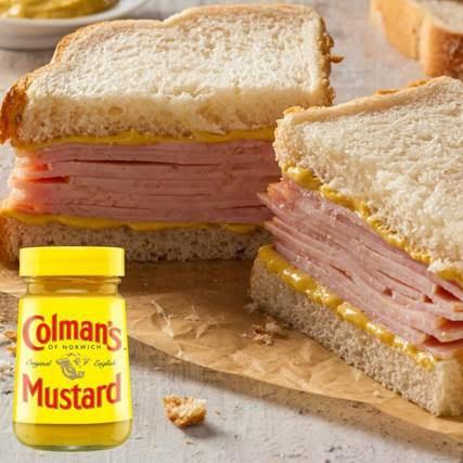 ham and mustard
