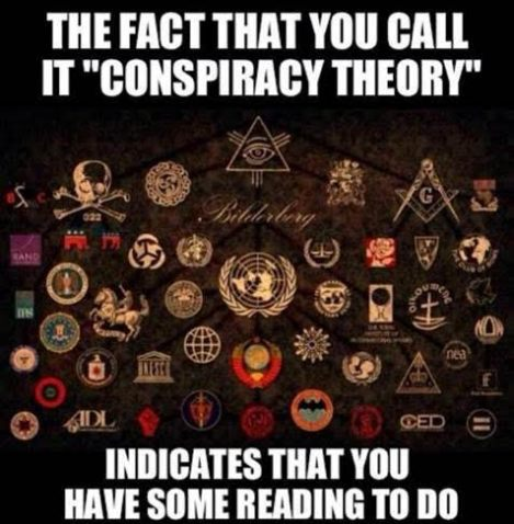Image result for funny conspiracy theorist