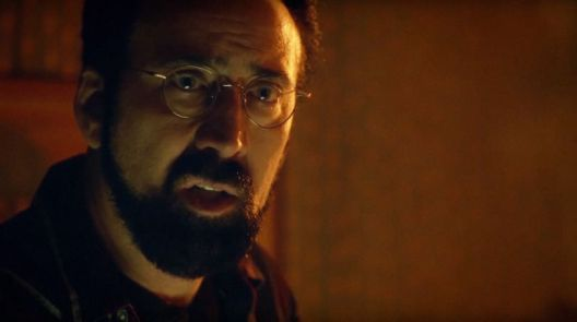 nic cage looking glass