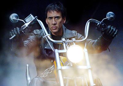 Nicolas Cage as Johnny Blaze Ghost Rider