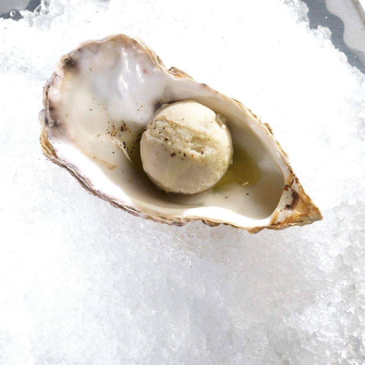 oyster ice cream