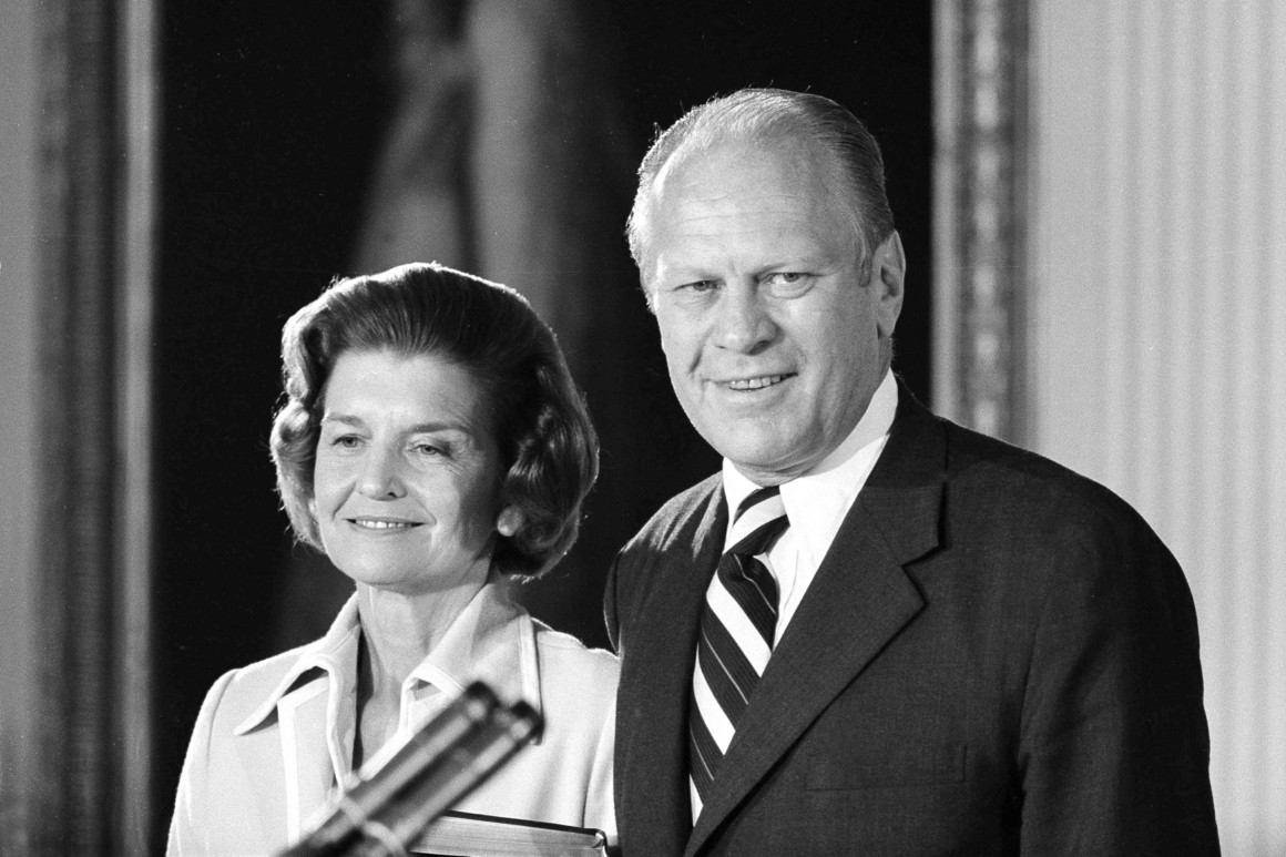 Gerald Ford and Betty Ford